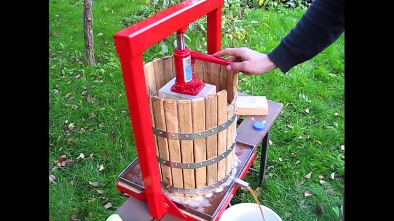Fruit Wine Cider Press Apple Grapes Crusher Juice Maker Juicer