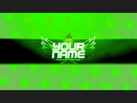 Banner] Drugs & Money! FREE Weed YouTube Banner Template! (.PSD ...