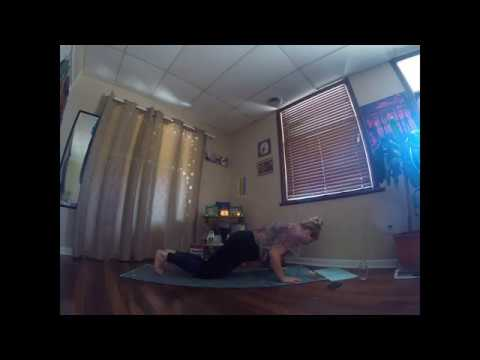 breaking down sun salutations and moon salutations  youtube