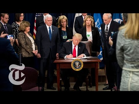 President Donald Trump Orders Border Wall With Mexico | The New York Times