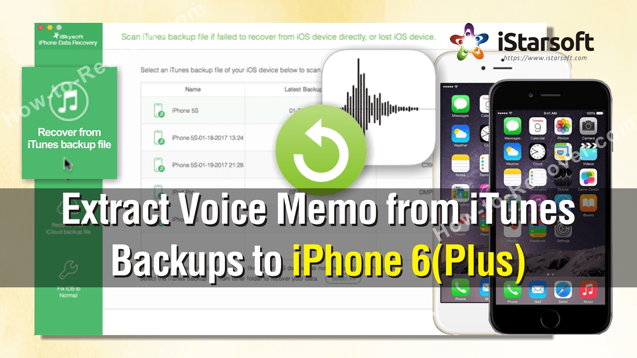 iphone voice memo how to extract voice memos from itunes backups to iphone 6 12445