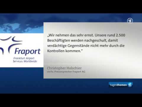 Sicherheitslücken am Flughafen Frankfurt beanstandet