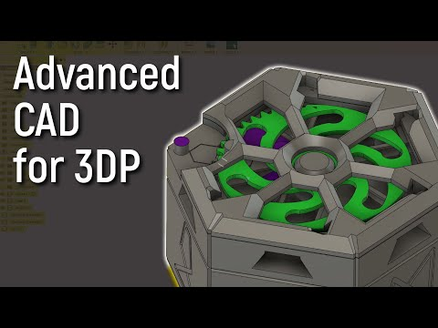 5 Advanced 3D Modelling Tips for COMPLEX 3D Printed Models