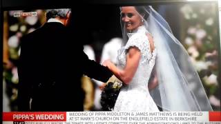 PIPPA MIDDLETON WEDDING DRESS!! WOW Watch WORLDWIDE YouTube FIRST PLAY VIDEO PIPPA's DRESS 20 MAY ||