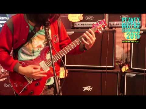Peavey Guitar Showdown 2016   Ibnu Tri H