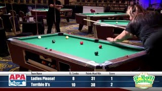 Finals - 9-Ball Doubles - 2016 APA Poolplayer Championships