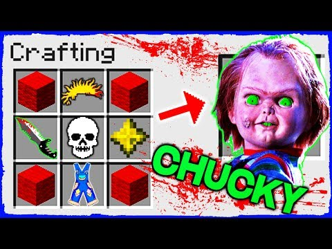 Minecraft - How to Summon CHUCKY in a Crafting Table!