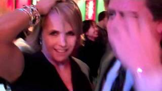 Katie Couric dances with Mark White