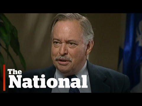 Jacques Parizeau, former Quebec premier, dead at 84