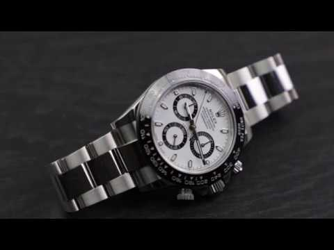 (4K) Rolex Cosmograph Daytona Ceramic 116500LN White Dial Unboxing