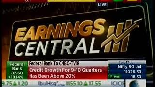 CNBC NSE Closing Bell 17 July 2018 - Mr  Shyam Srinivasan   MD & CEO, Federal Bank 14 45pm