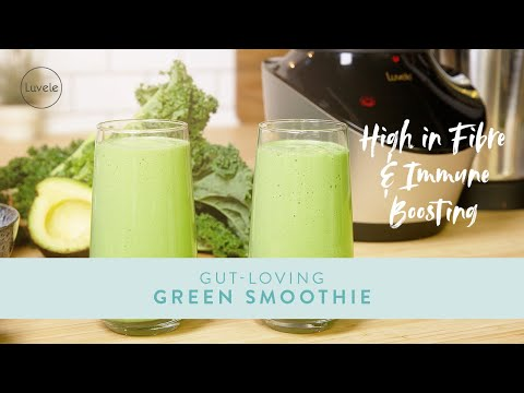 The Best Gut Loving Green Smoothie to Improve your Gut Health