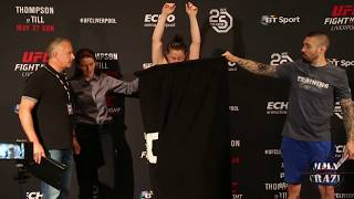 Molly McCann misses weight (127lbs) for UFC Fight Night Liverpool