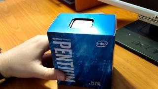 Розпакування процесора Intel Pentium G4560 3.5 GHz/8GT/s/3MB з Rozetka.com.ua