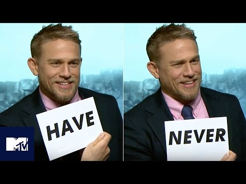 Charlie Hunnam Plays Never Have I Ever! 😂  MTV