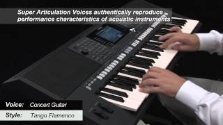 PSR-S950 Sound Realism