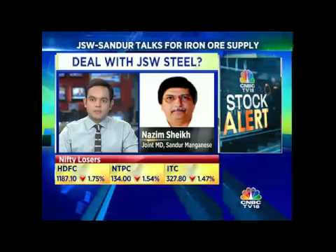 Sandur Manganese In Talks With JSW Steel For Long Term Iron Ore Supply