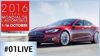 01LIVE HEBDO #113 spécial Mondial de l'Auto : remise des prix 01net.com