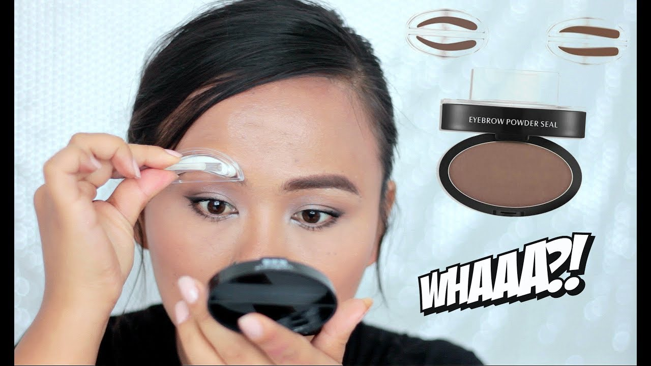 Eyebrows In Seconds Does BROW STAMP Really Work