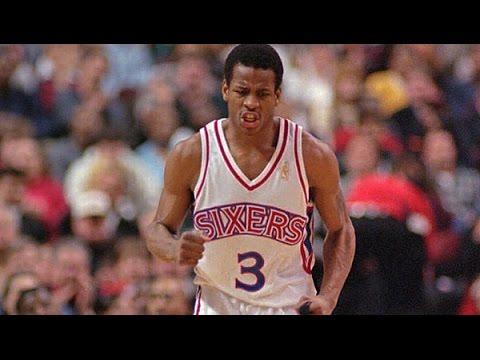 Allen Iverson Full Highlights 1997.03.12 vs Bulls - Rookie ...