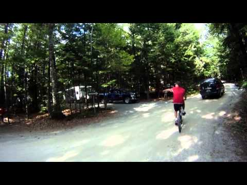 Mountain Biking AT Kejimkujik National Park with the GOPRO EPISODE TWO Jeremy`s Bay Campground
