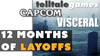 12 Months of Major Game Industry Layoffs