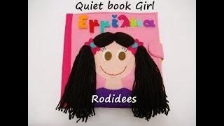 Quiet book Girl