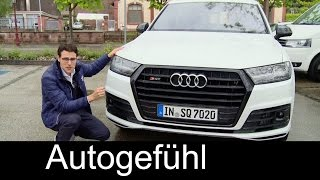 The best SUV? Audi SQ7 TDI 435 hp V8 FULL REVIEW test driven & Sound new neu