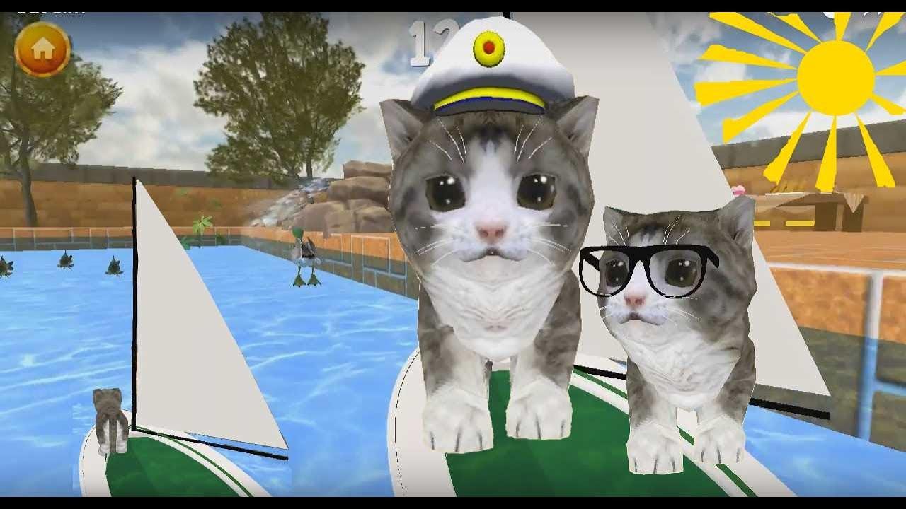 Игра кот симулятор видео