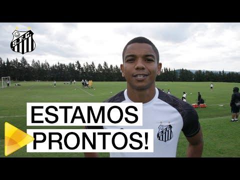 Santos finaliza preparação para encarar o Nacional