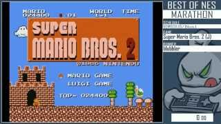 My Super Mario Bros. 1 and 2 speedruns at
