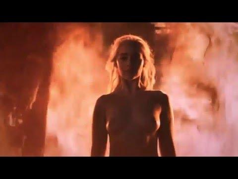 Дейенерис разговор с Кхалом + неопалимая в огне.