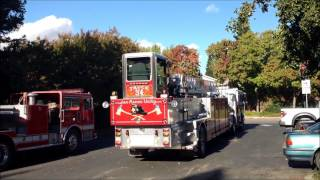 SRVFPD Truck 34 Leaves Station 34