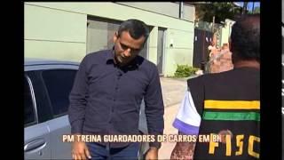 Polícia Militar treina guardadores de carros em Belo Horizonte