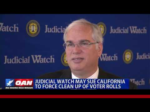 Judicial Watch May Sue Calif. to Force Clean Up of Voter Rol