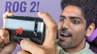 Asus ROG Phone 2 Unboxing & PUBG Gameplay with AIR TRIGGERS🔥🔥