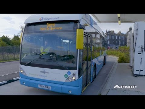 Europe's oil capital turns to clean green hydrogen buses | S