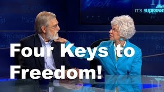 Video Chester and Betsy Kylstra | It's Supernatural with Sid Roth | Four Keys to Freedom! download MP3, 3GP, MP4, WEBM, AVI, FLV Januari 2018