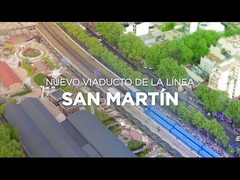 Comenzó la obra del Viaducto San Martín