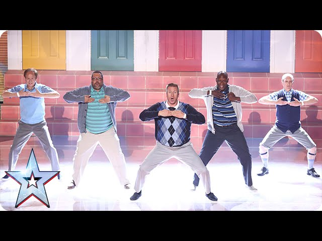 Have Old Men Grooving Got What It Takes Semi Final 2 Britain S Got Talent 2015 Youtube