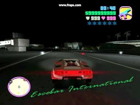 Gta Vice City Lamborghini Diablo Youtube