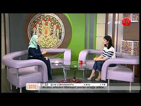 10 İyün (bozarğan) 2014 Saba Erte ATR-de Zeyneb Bairova Qırımtatarca - 10/06/14 Crimean Tatar TV