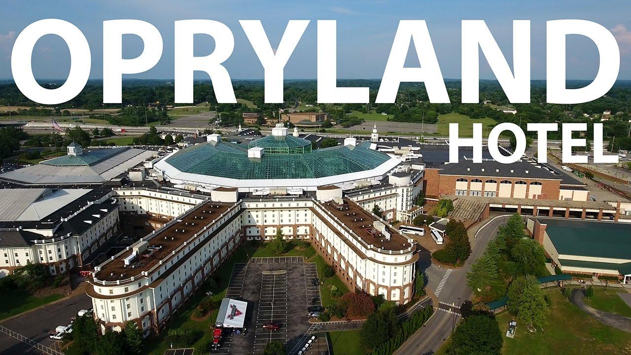 Dji Phantom 4 The Opryland Hotel 4k