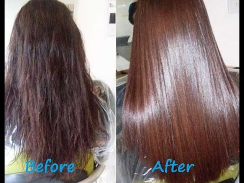 Diy How To Get Smooth Silky Hair At Home Get Thick Hair