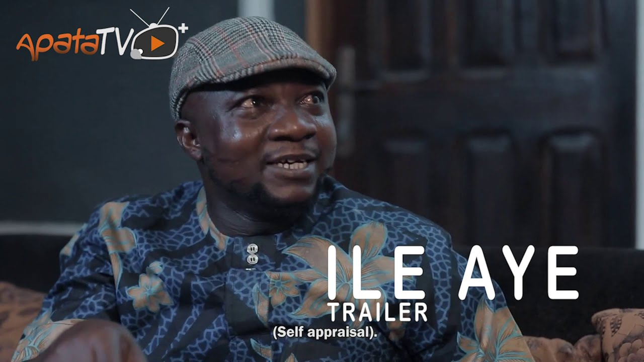 Download Sanyeri Hurls Abuse On His In-Law -  Ile Aye Yoruba Movie