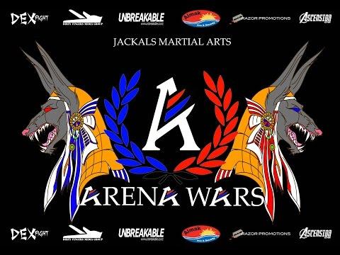 Arena Wars WMC NZ Title fight Aaron McAdams Jackals vs Braedyn Grant ROA
