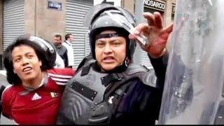 Expulsion musclée des enseignants contestataires au Mexique