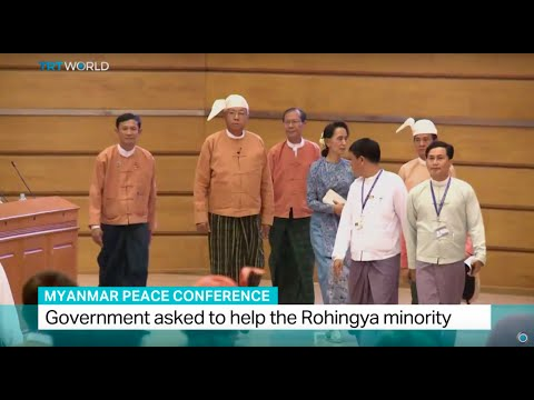 Myanmar Peace Conference: Government asked to help the Rohingya minority, Soraya Lennie reports