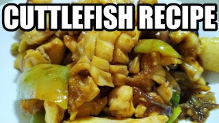 HOW TO COOK CUTTLEFISH | STIR-FRIED CUTTLEFISH RECIPE WITH OYSTER SAUCE