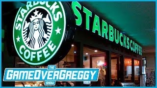 Our First Time At Starbucks - The GameOverGreggy Show Ep. 197 (Pt. 1)
